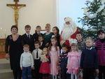 25 Декабря 2010 - Санта Клаус в гостях у детей в Рождество